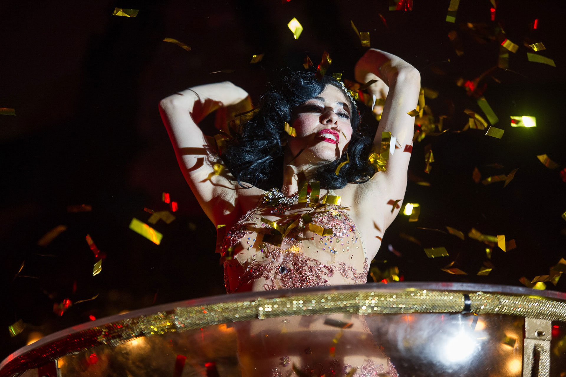 Burlesque Show Veranstaltungsfoto