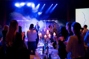 Live Auftritt auf einem Event in München