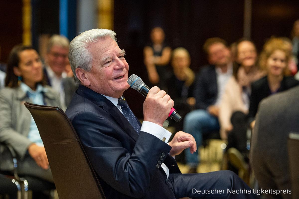 Bundespräsident Deutscher Nachhaltigkeitspreis