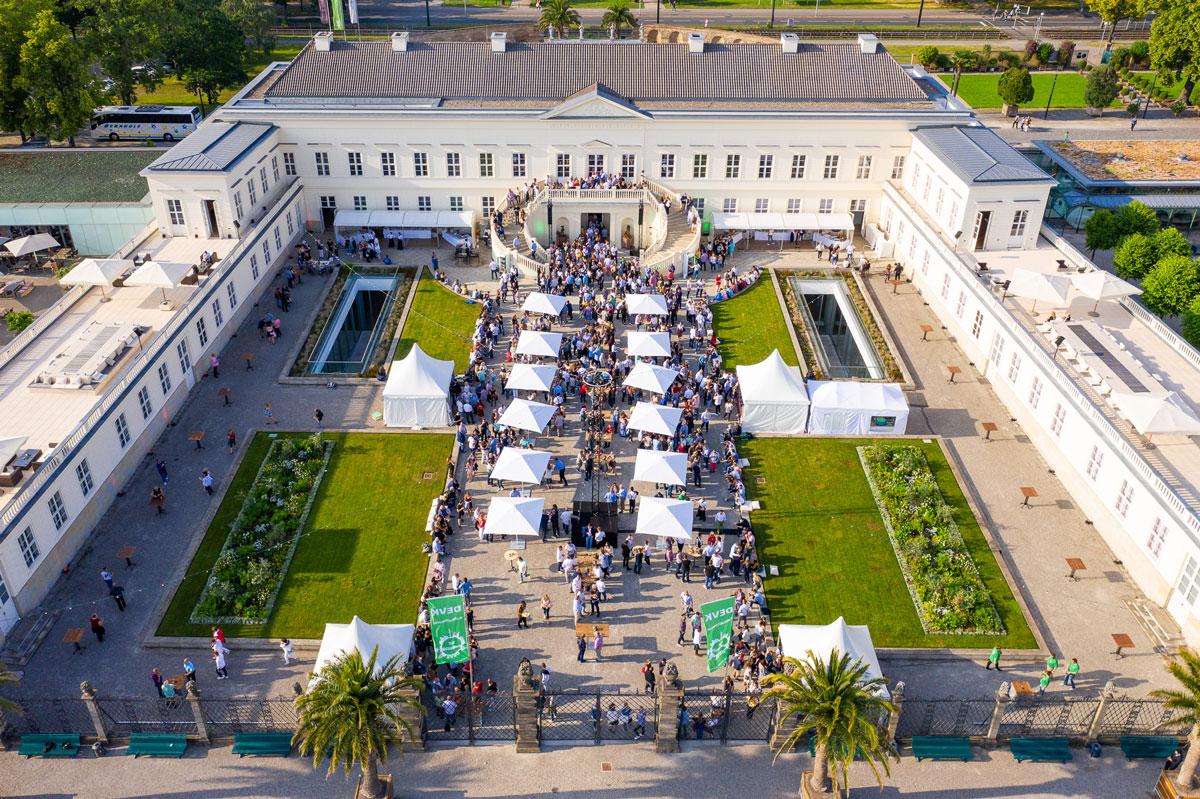 Drohnen Eventfoto Herrenhauser Gärten Hannover