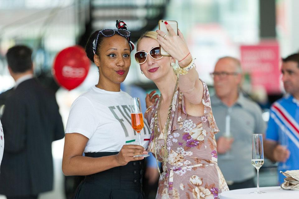 Selfie Eventfotografie